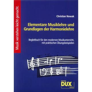 Edition Dux Elementare Musiklehre Nowak, Buch Product Image