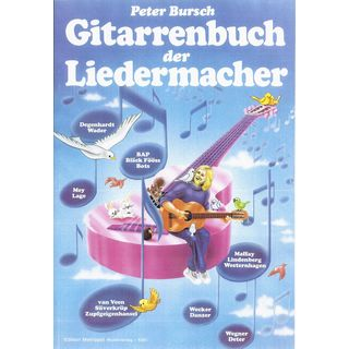Edition Metropol Gitarrenbuch der Liedermacher Изображение товара