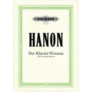 Edition Peters Hanon: Der Klavier-Virtuose  Product Image