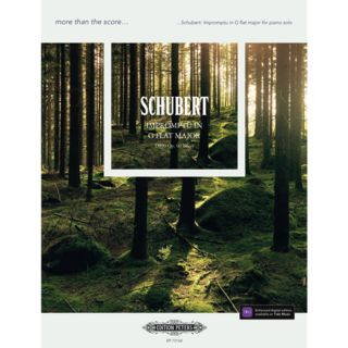Edition Peters more than the score... Schubert: Impromptu in G flat major Product Image