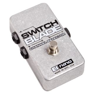 Electro Harmonix Switchblade Guitar Effects Ped al, Passive Channel Selector   Product Image