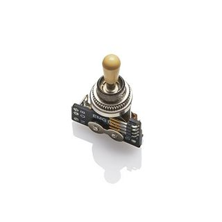 EMG 3-Position Toggle Switch Ivory Product Image