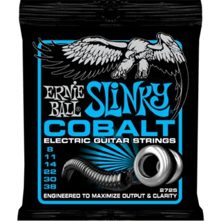 Ernie Ball E-Guitar Strings 08-38 Cobalt Extra EB2725 Product Image