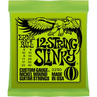 Ernie Ball EB2230 8-40 12-string Slinky nikkel Plated Productafbeelding