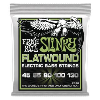 Ernie Ball EB2816 45-130 5-string Flatwound Cobalt Product Image
