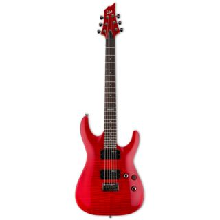 ESP LTD H-101 FM STR See Thru Red Product Image