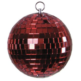 Eurolite Mirror Ball10cm red 10mm Product Image