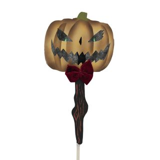 Europalms Halloween pumpkin ghost with picker Product Image