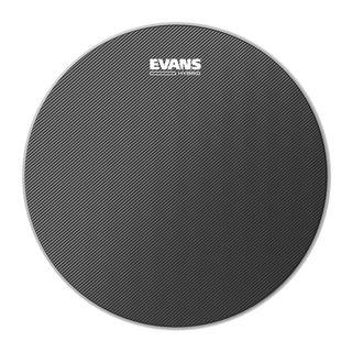 "Evans Hybrid 14"", SB14MHG, Grey, Marching Snare Batter Product Image"