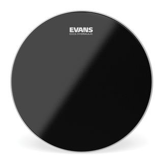 "Evans Hydraulic Black 14"", B14HBG, Snare Batter Product Image"
