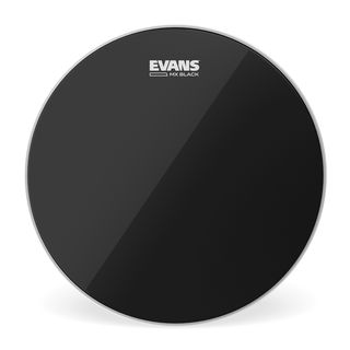"Evans MX Black Tenor 6"", TT06MXB, Marching Head Product Image"