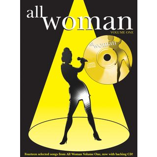 Faber Music All Woman Vol. 1 PVG, Sheet Music and CD Product Image