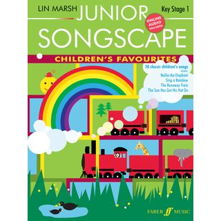 Faber Music Junior Songscape: Children's Favourites, Piano-Vocal, CD Product Image