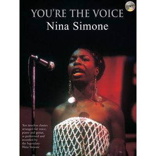 Faber Music You´re the voice - Simone, N. PVG, Sheet Music and CD Product Image