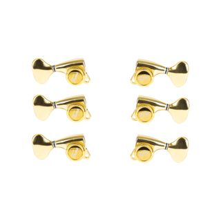 Fame 334KSM Locking Tuners 3+3 Chrome