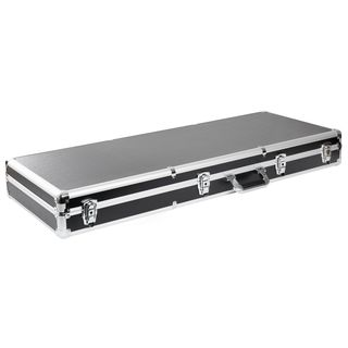 Fame Aluminium Case Electric Guitar Silver Product Image