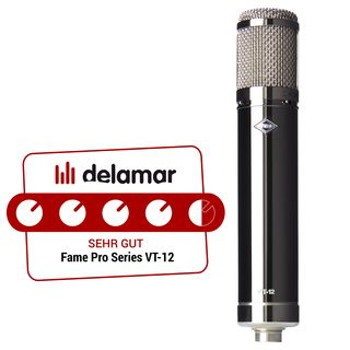 Fame Audio Pro Series VT-12 Tube Microphone Product Image
