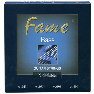 Fame Bass Strings,4er,45-100 round wound Product Image