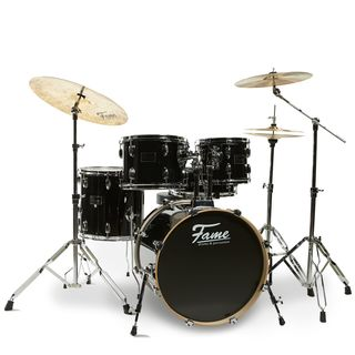 Fame Blaze Studio Drum Set 5201 Black Product Image