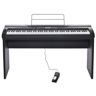 Fame DP-4000 BK Digital-Piano Set incl. Stand Productafbeelding