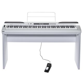 Fame DP-4000 WH Digital-Piano Set incl. stand Product Image