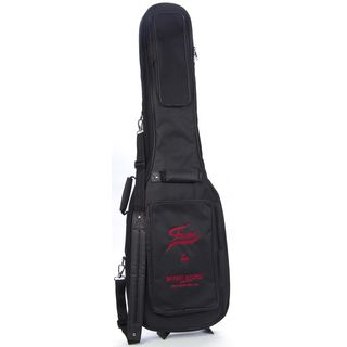 "Fame E-Bass ""Super Deluxe"" Gigbag Black with Red Logo Product Image"