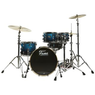 Fame Fire Stage ShellSet 4220 Schlagzeug #Blue Fade Sparkle Product Image