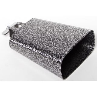 "Fame M5 Cowbell 4 1/2"" Black / Silver Product Image"