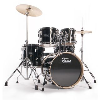 Fame Maple Standard Jungle Set, #Black Produktbillede