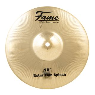 "Fame Masters B20 Extra Thin Splash, 10"", Natural Finish Product Image"