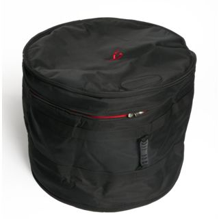 "Fame Pro Line Bass Drum Soft-Case 22"" x 18"" (Black/Red) Product Image"