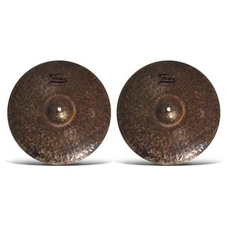"Fame Pure Hi-Hats 16"" (Hammered) Product Image"