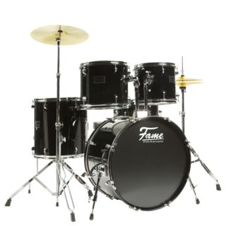 Fame Spark 5201 Studio Drum Kit BK Product Image
