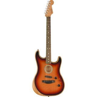Fender AM Acoustasonic Stratocaster 3-Color Sunburst Produktbild
