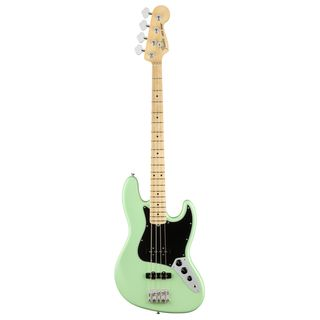 Fender American Performer Jazz Bass MN Satin Surf Green Product Image