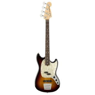 Fender American Performer Mustang Bass RW 3-Color Sunburst Product Image