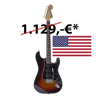 Fender American Special Stratocaster HSS RW 3TS 3-Tone Sunburst Product Image