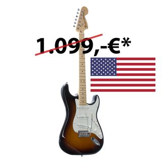 Fender American Special Stratocaster MN 2TS 2-Tone Sunburst Product Image
