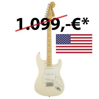 Fender American Special Stratocaster MN OWT Olympic White Product Image