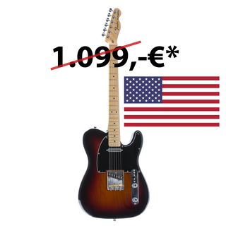 Fender American Special Telecaster MN 3TS 3-Tone Sunburst Product Image