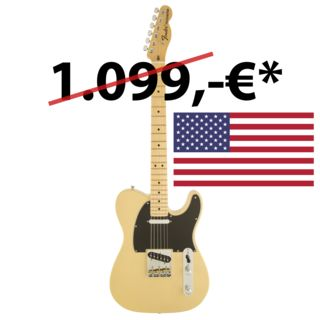 Fender American Special Telecaster MN Vintage Blonde Product Image