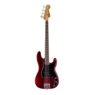 Fender AS Nate Mendel P-Bass RW CAR Candy Apple Red Product Image