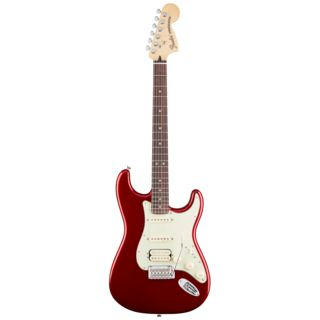 Fender Deluxe Stratocaster HSS RW CAR Candy Apple Red Produktbild