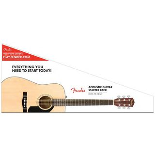 Fender FA-115 Dreadnought Pack NAT Natural Produktbild