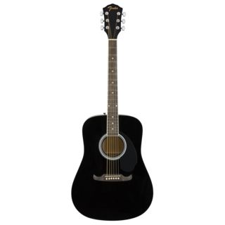 Fender FA-125 Dreadnought Black Produktbild