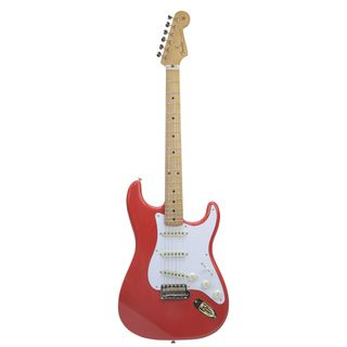 Fender FSR Limited Edition Classic '50s Stratocaster MN Fiesta Red Gold Hardware Product Image