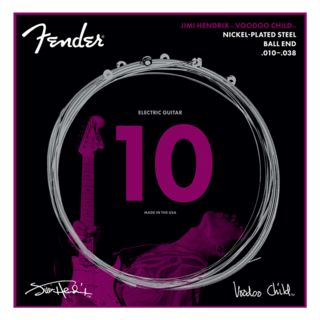 Fender Jimi Hendrix Voodoo Child NPS Ball End Strings 010-038 Product Image