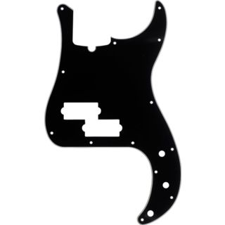 Fender Pickguard Standard P Bass Black 3-Ply Product Image
