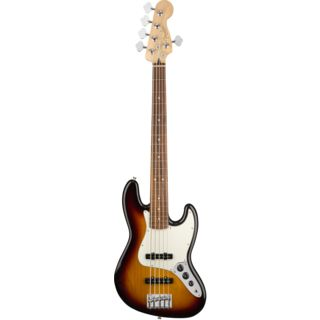 Fender Player Jazz Bass V PF 3-Color Sunburst Produktbillede