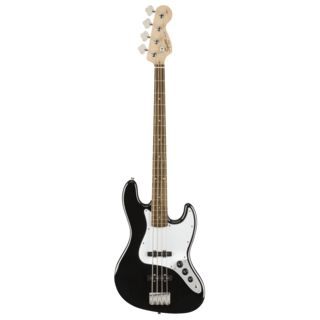 Fender Squier Affinity Series Jazz Bass IL Black Product Image